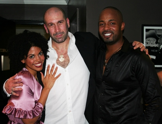 Karla Mosley, Jeremy Schonfeld and Kris Coleman